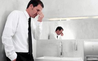 Коричневая моча у мужчин: причины патологии, лечение